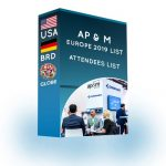 Attendees List: AP&M Europe 2019 – ProDataLabs
