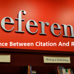 Difference Between Citation And Reference
