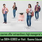 MBA courses offer extraordinary high managerial skills