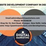 Best Website Development Company in Delhi India | Pasminasolutions.com