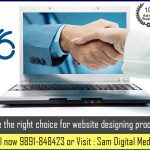 Hire the right choice for website designing process.