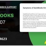 Fix QuickBooks Error 2107