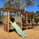 Structuring a Play Zone with Open air Playground Equipment for Schools