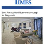 Best Remodeled Basement enough for eighty guests