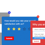 Drive business from online surveys