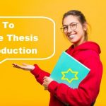 How To Write Thesis Introduction