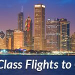 Business class flights to Chicago
