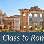 Business Class flights to Rome,italy
