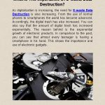 What Is The Importance Of E-waste Data Destruction?