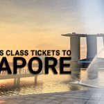 Cheap business class tickets to Singapore
