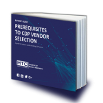 Buyers guide prerequisites to cdp vendor selection