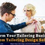 Custom Tailoring Software | Custom Clothing Software | Bespoke Tailoring Software