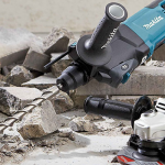 How to drill to concrete by Hammer Drill