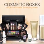 Presence of custom cosmetic boxes using custom boxes on shelfs
