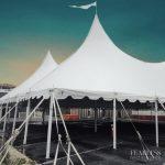 EventQuip Successfully Installs 6400 Square Foot Tented Restaurant Solution