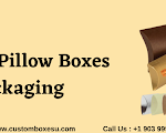 Custom Pillow Boxes packaging in Texas USA