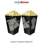 Get 30% discount on Black Friday on Popcorn Boxes