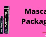 Mascara packaging with Printed logo &Design