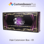 High-quality hair Packaging With Free Shipping