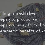 IS KNITTING A STRESS RELIEVER? | vardhmanknitworld
