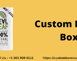 Custom Printed Personalized Branded pre roll boxes in Texas