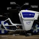 Electric bicycles for doctors