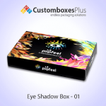 Get Cosmetic Eyeshadow Box Wholesale at CustomBoxesPlus