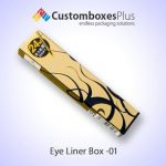 Get Custom Eyeliner Boxes Wholesale at CustomBoxesPlus