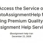 Access the Service of GotoAssignmentHelp for Getting Premium Quality Iran Assignment Help Service