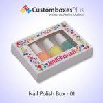 Get Nail Polish Box Wholesale at CustomBoxesPlus