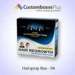 Advanced Custom Hairspray Boxes for your shop's counters