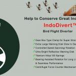 IndoDivert – Bird Flight Diverter & Bird Deflector/ Reflector/ Flapper | LED Bird Diverter