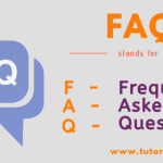 FAQ Full Form | Full Form of FAQ