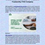 Crucial Factors to Look Out For To Select a Trustworthy ITAD Company