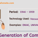 The First Generation of Computer: Vacuum Tube