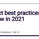 React best practices to follow in 2021